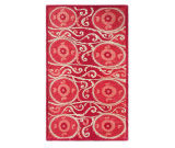 RugStudio presents The Rug Market America Camden Oy 44304 Red/coral/ivory Hand-Tufted, Good Quality Area Rug